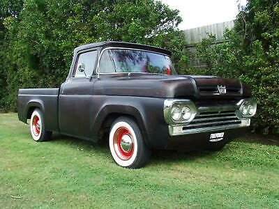 1960 Ford F100 American Classic Custom Pick Up Truck V8 Firepower Classics