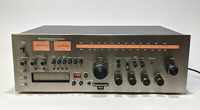 PANASONIC MCS 683-2500 Stereo Receiver 8 Track AM FM Phono - Tested