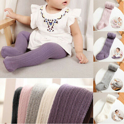 Kid Toddler Baby Girl Warm Cotton Tights Stockings Pantyhose Pants Socks Hosiery