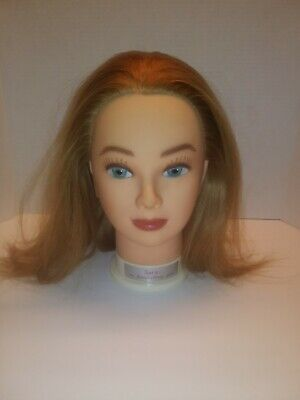 My Beauty Shop Pal Cosmetology Hair Mannequin Head Toy Sara Free Shipping!
