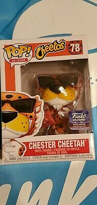 Cheetos Chester Cheetah FUNKO Pop Ad Icon Hollywood Exclusive Limited Edition!
