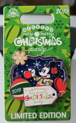Disney Mickey's Very Merry Christmas Party 2019 Minnie Mouse Pin Le 5000