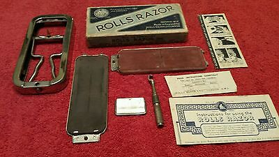 ROLLS RAZOR IMPERIAL No.2 NICKEL PLATED MADE IN ENGLAND SHEFFIELD STEEL