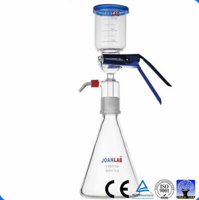 Hot 1000mL Lab Vacuum Suction Filtration Chemistry Vacuum Glass Filter Device