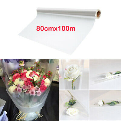 Clear Plain Cellophane Film 28 Metres Long Roll Oasis Floristry Gift Wrapping