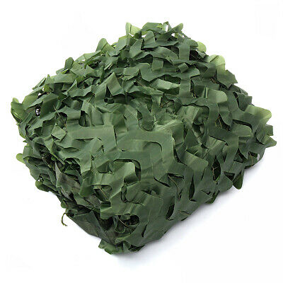 Multi-Size Army Green Camo Netting Camouflage Net for Car Cover Camping