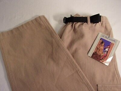 OF THE EARTH Hemp Organic Cotton Camel Pants #1132039 Women's Small