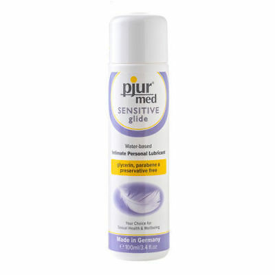Pjur Med Sensitive Glide Intimate Personal Lubricant 100ml Water Based