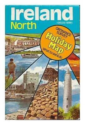 Ireland North, Sheet 1. Ordnance Survey holiday map. What to see and do
