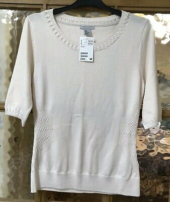New With Tags H&M Cotton Top Size Medium