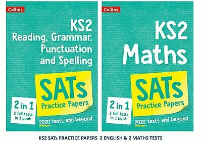 Ks2 Sats Maths English Reading Grammar Punctuation Spelling Practice Papers 2020