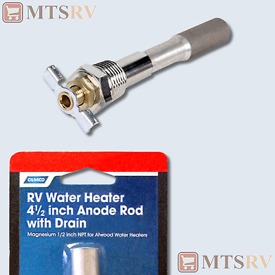 NEW 11553 2 Pack Of Camco Atwood Anode Rods