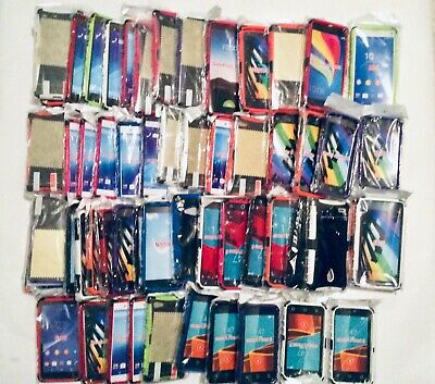 Clearance Job Lot of 60  Builder Shockproof phone Cases