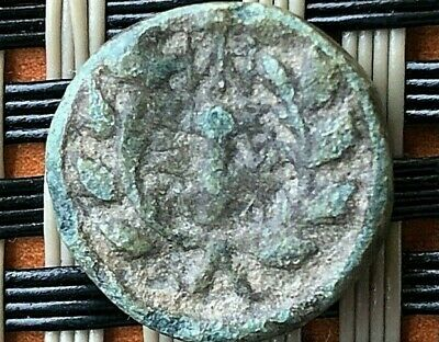 Sardes, Lydia 133-1 Bc Ae14 Apollo & Club Ancient Greek Bronze Coin