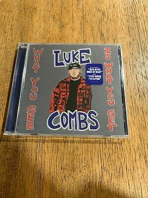 """LUKE COMBS - """"What You See, Is What You Get""""  CD"""