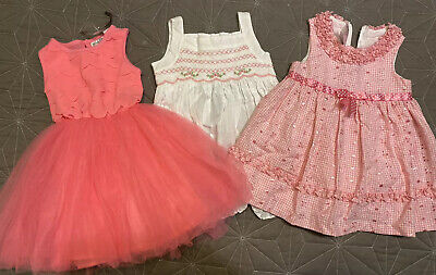 Girls Size 1 Dress Bundle