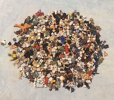Huge Lego Lot 3 Pounds of Star Wars Minifigures And Accessories