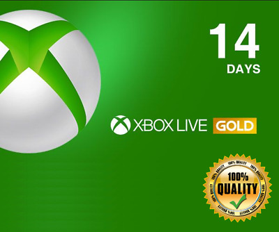 Xbox Live Gold Trial Code XBOX LIVE 14 Days US ACCOUNT - Delivery via Email
