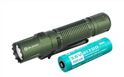 Olight M2R Pro Warrior Desert Tan 1800 Lumen 21700 Flashlight FL-OL-M2RPRO