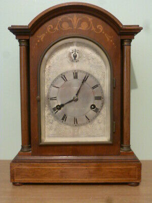 Westminster chime musical mantel / bracket clock