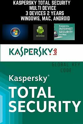 KASPERSKY TOTAL Security 2020 Multi / 3 Device / 2 Year / GLOBAL-KEY