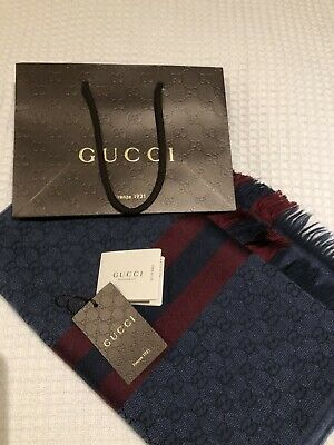 Excellent Condition Gucci Mens Scarf