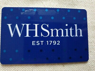 W H Smith Giftcard Gift Card Voucher Coupon.  £16.50