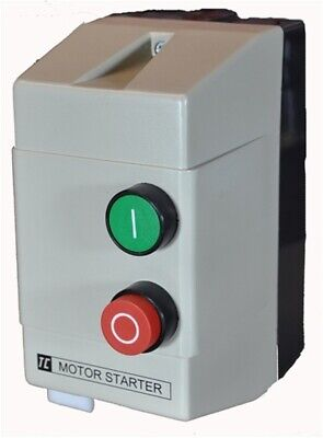 Sector TC Electrical 11kW 25A DOL Motor Starter ON OFF Control 240V Enclosure