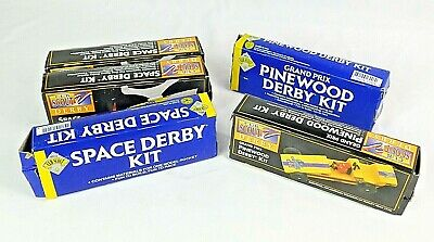 NWT Boy Girl Scouts of America Cub Crafts Pinewood Derby Canopy Cockpit Set NOS