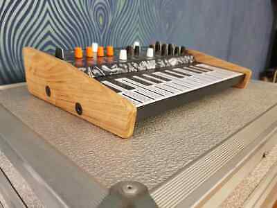 Recessed Solid Oak Wooden Stand For Arturia Microfreak Synth