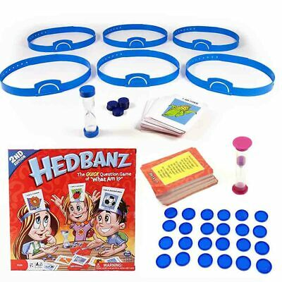 What Am I? Header Card Game Guess Children of Family WHO Traditional Head Band