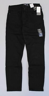 Abercrombie & Fitch Women's Harper Low Rise Ankle Jeans KB8 Black Size 26S