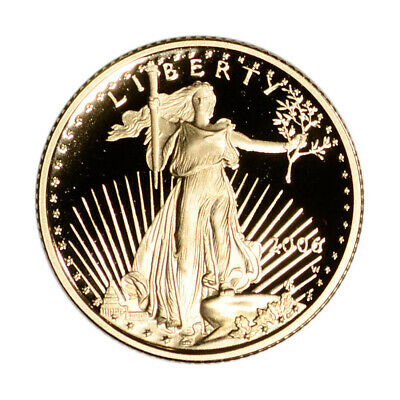 2006-W American Gold Eagle Proof 1/10 oz $5 - Coin in Capsule