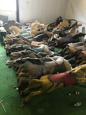 Antique Carousel horses $850 each.Total for all $23000 for all 28 of them.