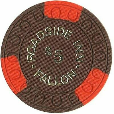 Roadside Inn Casino Fallon NV $5 Chip 1970s