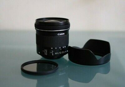 **1 OWNER** EXCELLENT Canon EF-S 10-18mm F/4.5-5.6 IS STM Lens with Extras! Vlog