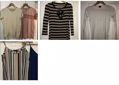 Casual Maternity 5 Top Bundle Size 8 ASOS NEWLOOK TOPSHOP NEXT