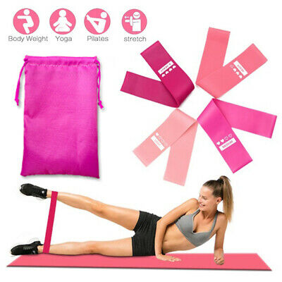 Professional Resistance Bands Loop GYM Fitness Crossfit Strength Yoga Exercise