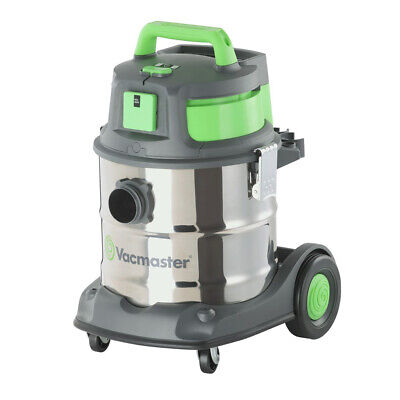 Vacmaster Industrial Vacuum Wet / Dry 20l 1500 watts Stainless Tank Sync Func