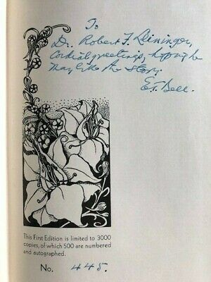 The Forbidden Garden Taine 1947 1st Edition Signed & Numbered Fantasy Press GIFT