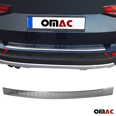 Audi-Q5 SQ5 Rear Bumper Stainless Steel Protector Guard Trim Cover Chrome S Line