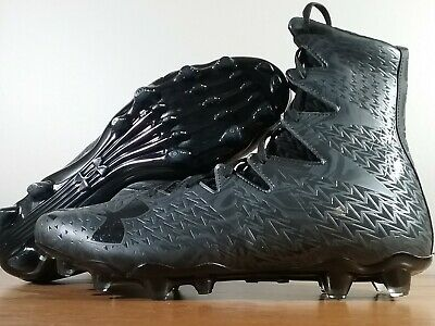 Under Armour Highlight Lux MC Football Cleats Black 1258400-001 Size 10.5