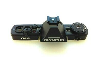 OLYMPUS OM-4 Top Cover Complete with Wiring - Very Good Condition