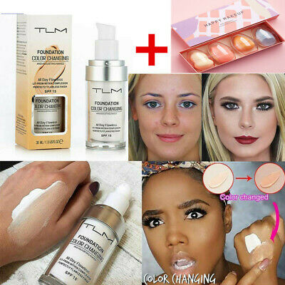 TLM Flawless Color Changing Liquid Foundation Base Face Cover makeup sponge