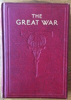 Winston Churchill's The Great War Vol  3 Leather Bound Hardback 1933 1st Edition