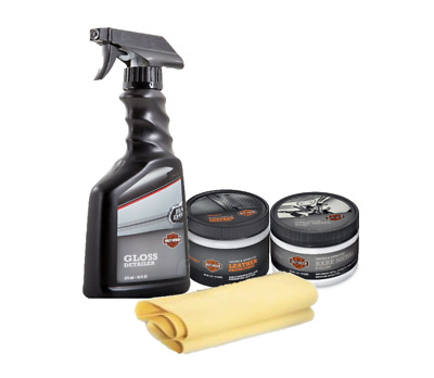 Harley-Davidson Gloss Detailer Motorcycle Cleaning Gift Package