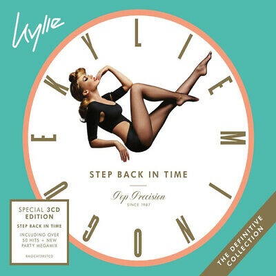 Kylie Minogue : Step Back in Time: The Definitive Collection CD Special  Box