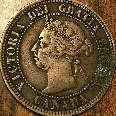 1892 Canada Large Cent Penny 1 Cent