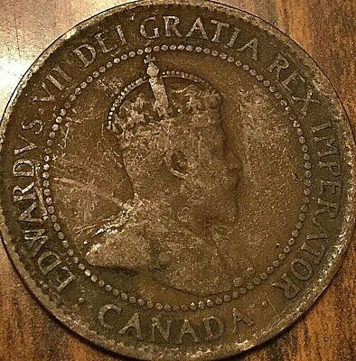 1904 Canada Large Cent Penny 1 Cent