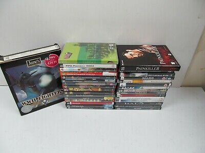 PC CD-ROM Games 32 x Games Mixed Bundle